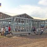 structure métallique maison burundi