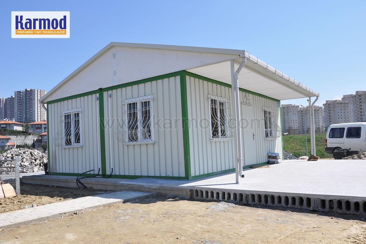 Structure pr fabriqu e maison pr fabriqu e conteneur for Maison container constructeur