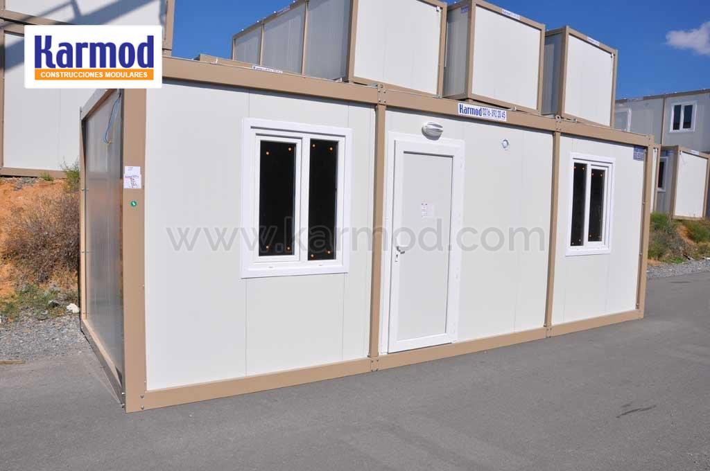 Structure pr fabriqu e maison pr fabriqu e conteneur for Container maison reunion