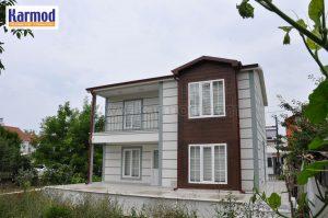 La maison à ossature métallique