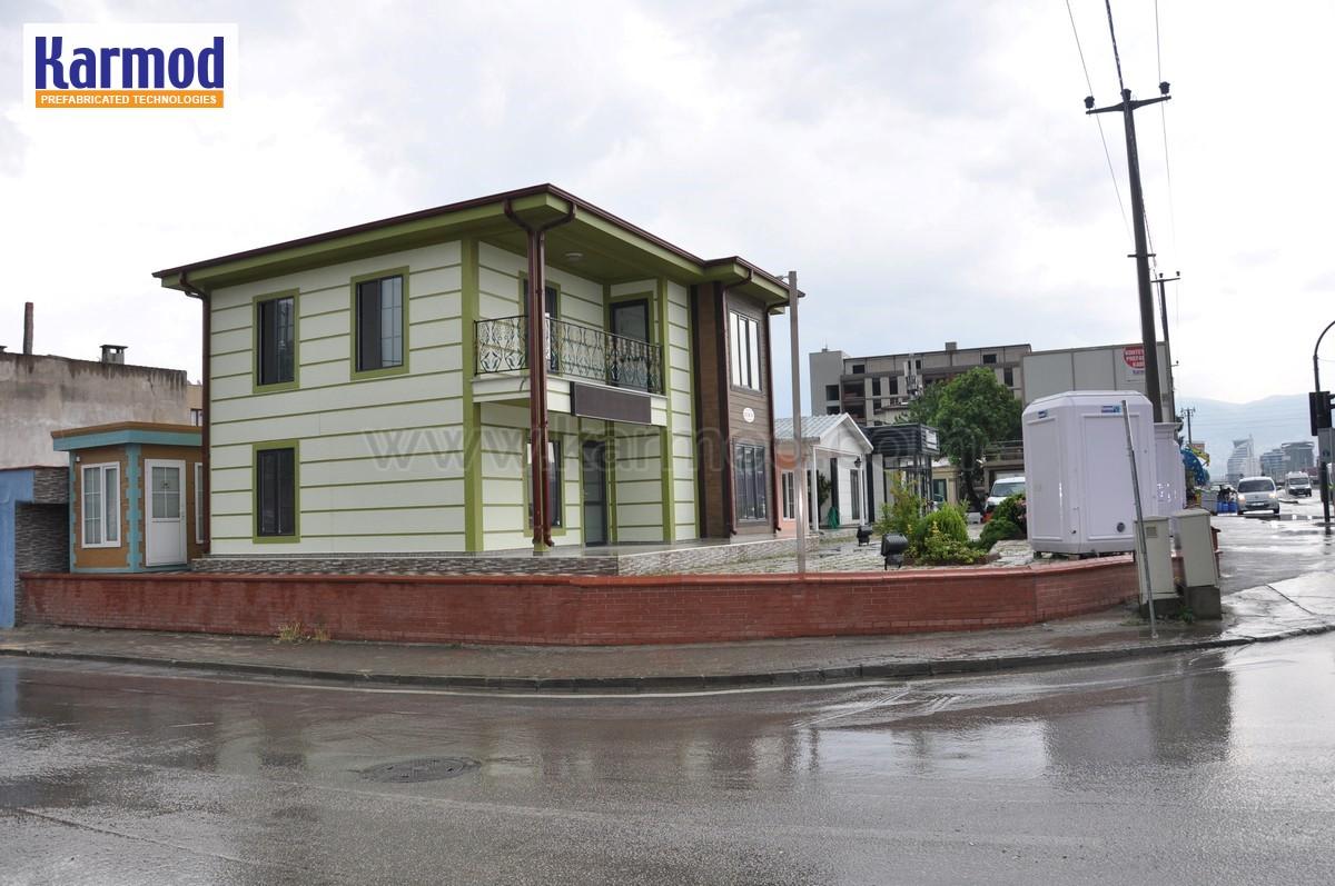 Maison mobile ecologique maison fabricant france karmod - Constructeur maison modulaire ...