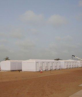 Sénégal: L'installation des cabines modulaires est achevée