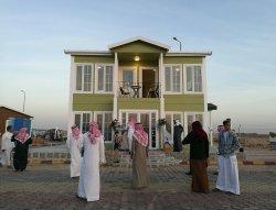 prefab showroom Moyen-Orient