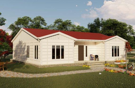 Construction maison préfabriquée 123 m2