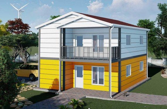 Logements en préfabriqué 137 m2