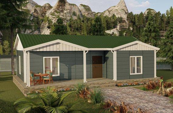 Construction maison préfabriquée 87 m2