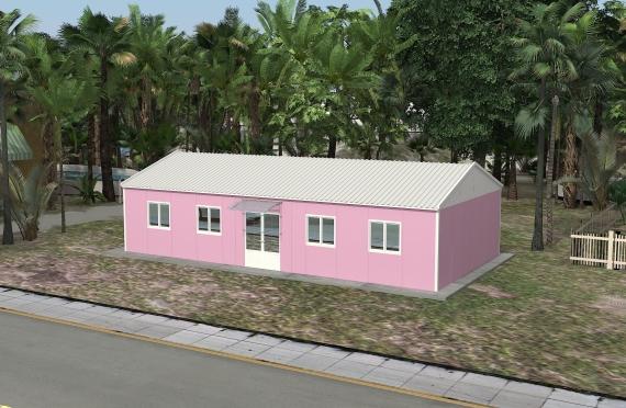 Bureau Préfabriqué 98 m²
