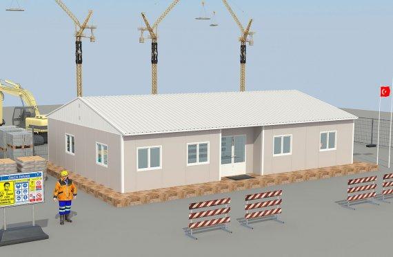 construction de chantier prefabrique