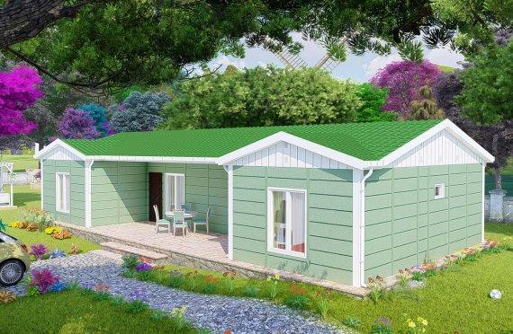 Construction maison 102 m2