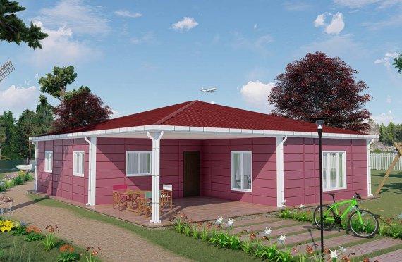 Construction maison 123 m2