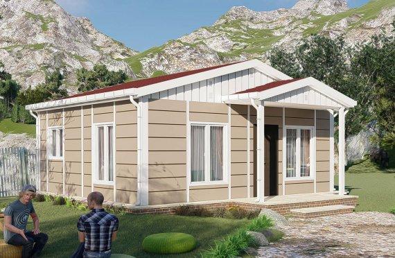 Construction maison 45 m2