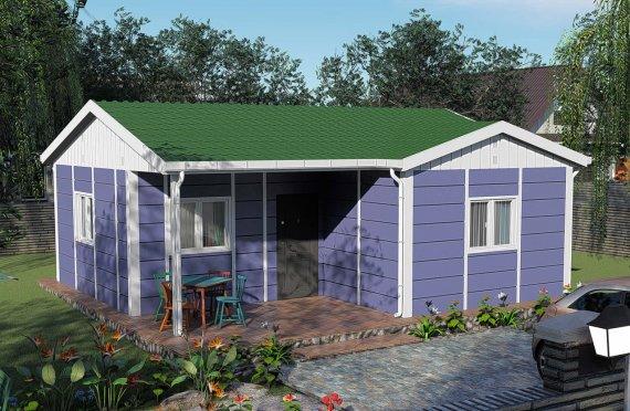 Construction maison 51 m2