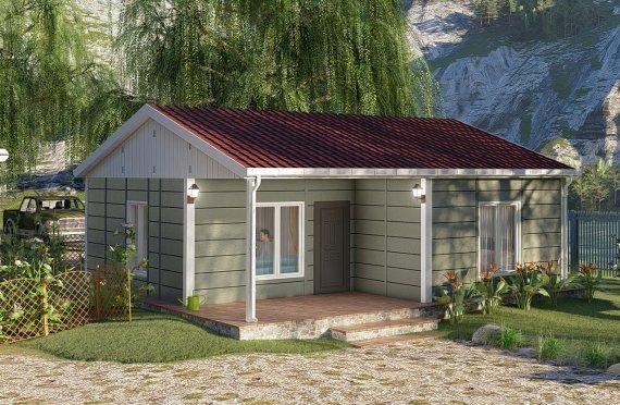 Construction maison 64 m2