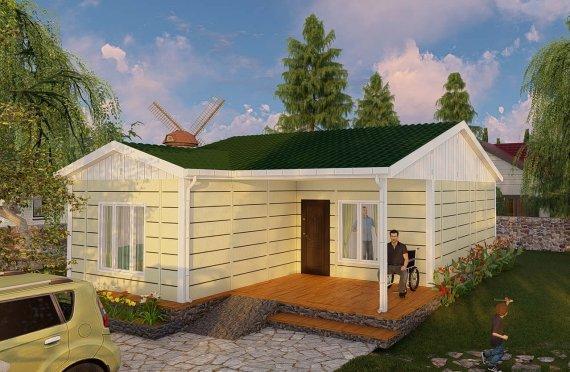 Construction maison 73 m2