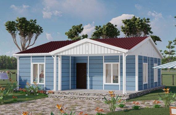 Construction maison 82 m2