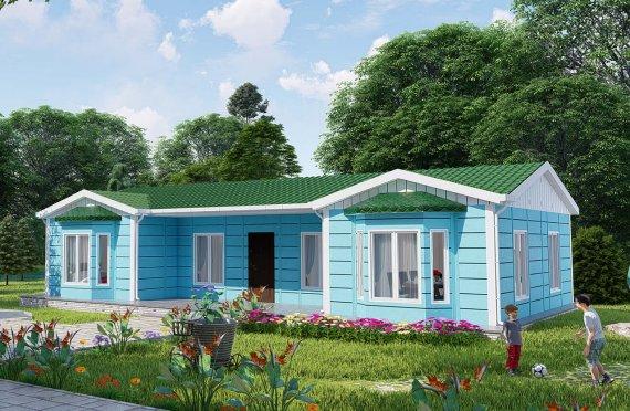Construction maison 97 m2