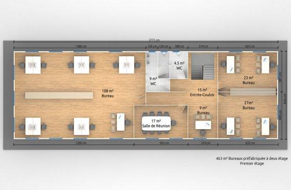 construction modulaire plan