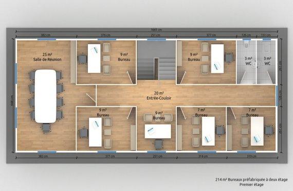 construction prefabriquee plans