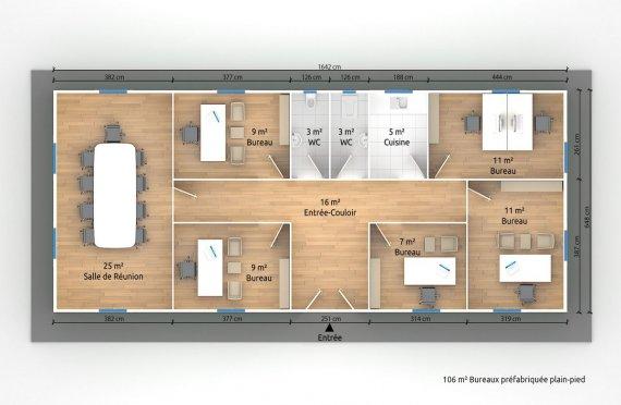 constructions modulaires plans