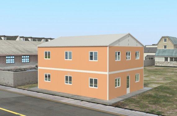dortoir préfabriqué 206 m2