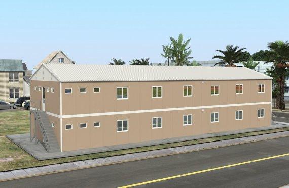 dortoir préfabriqué 474 m²