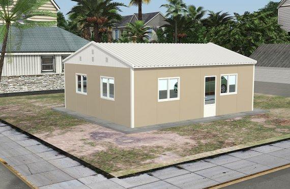 exemple de maison préfabriqué