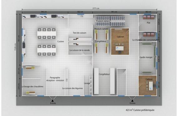 habitation modulaire plans