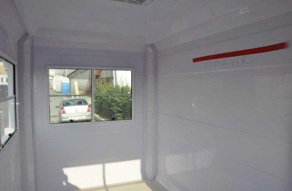 kiosque fibre de verre