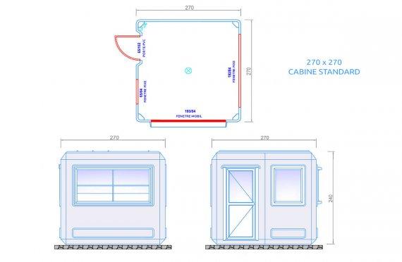 kiosque modular