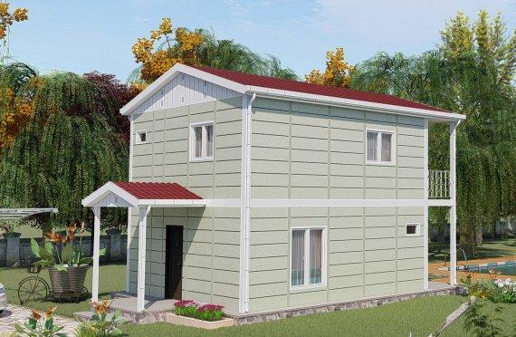 Logements en préfabriqué 91 m2