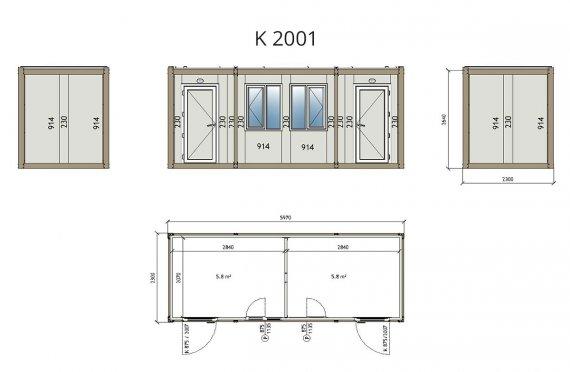 maison container cameroun