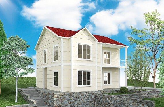 maison préfabriquée  burkina faso