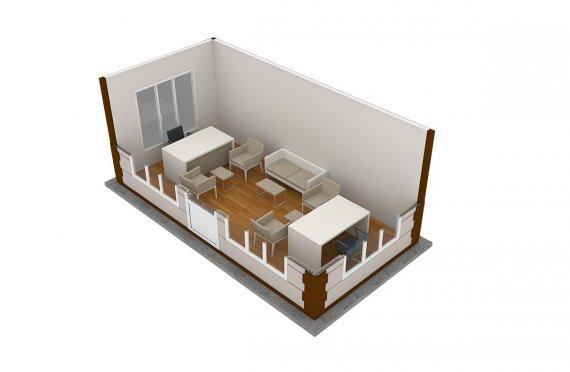 Cabine Moderne 300x600