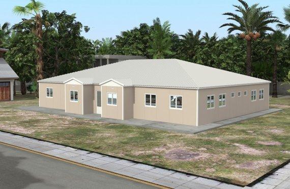 Ecole Modulaire 289 m²