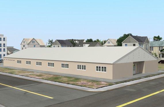Ecole Modulaire 808 m²