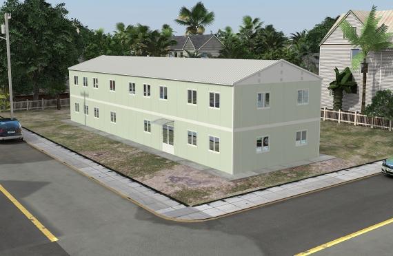 Bureau Préfabriqué 463 m²