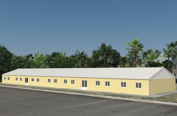 Ecole Modulaire 681 m²