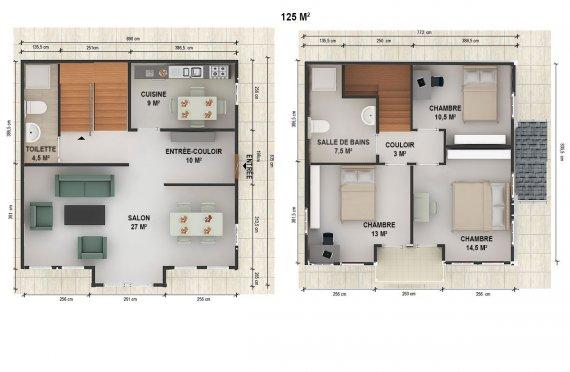 plan de construction maison niger