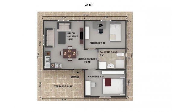 plan de construire maison
