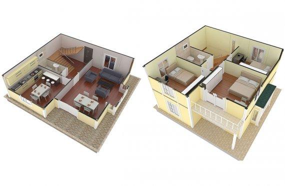 plan de maison bonneville