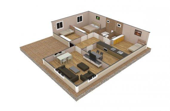 plan de une maison gratuit