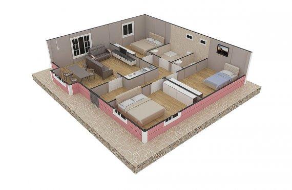 plan de une maison