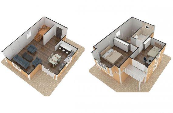 plan gratuit de maison moderne