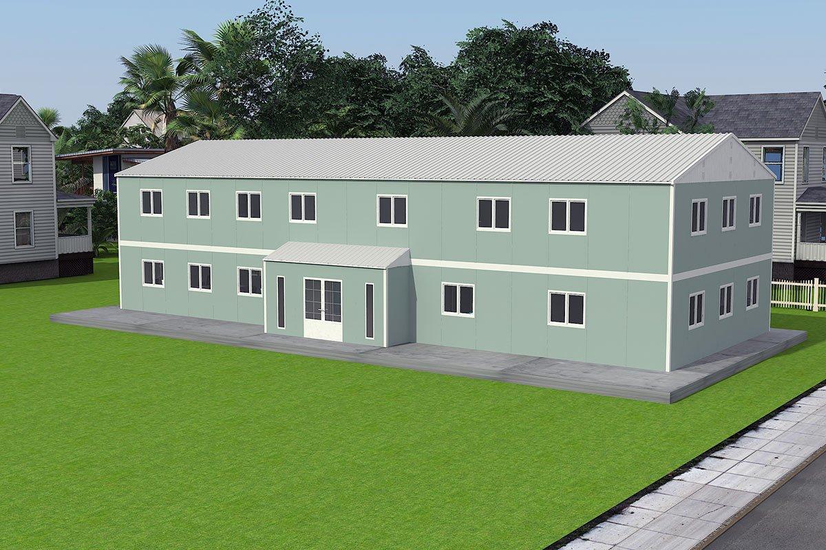 Bureau Préfabriqué 415 m²