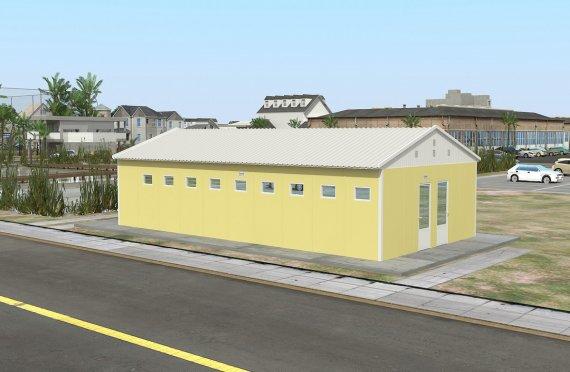 préfabriqué WC & Douche 82 m²