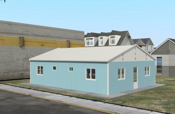 Dortoir Modulaire 102 m²