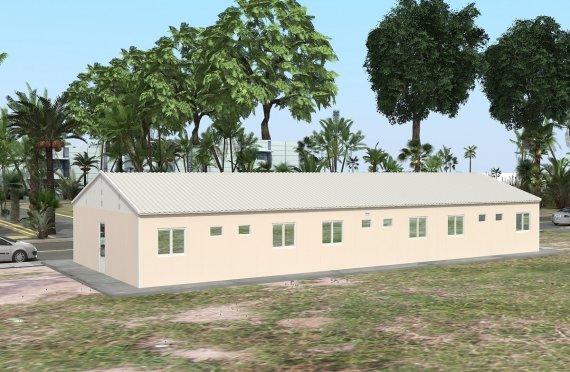 Dortoir Modulaire 204 m²