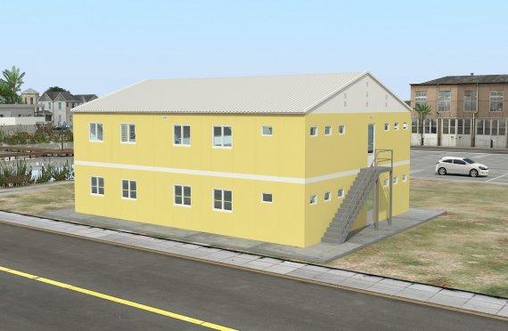 Dortoir Modulaire 348 m²