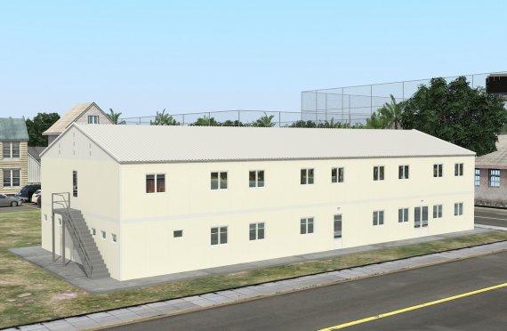 Dortoir Modulaire 662 m²