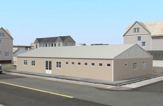Hôpital Modulaire 275 m²